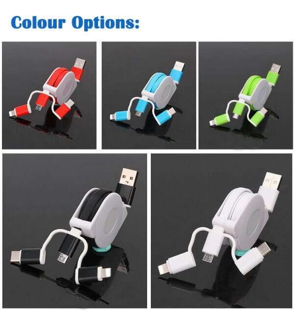 promotional phone charging cable
