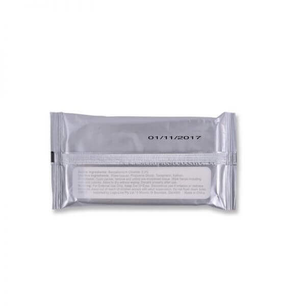 promotional wet wipes