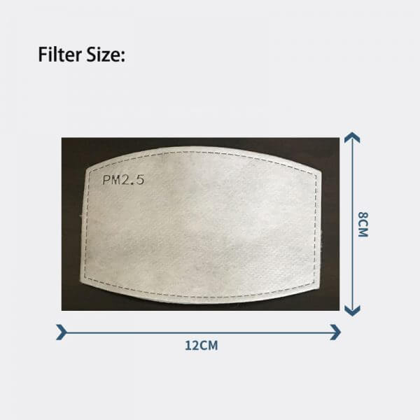 promotional face mask filters
