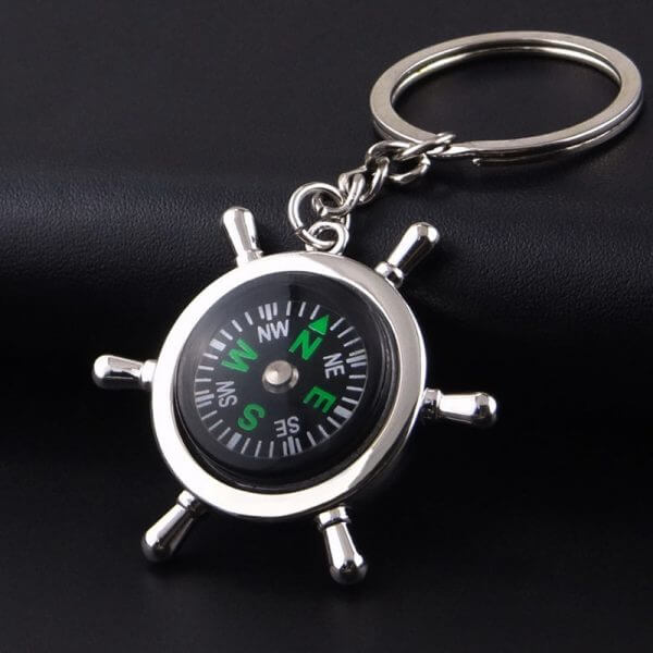 promotional metal keyring